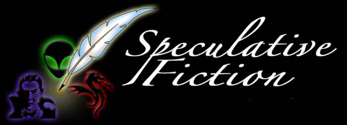 Speculative Fiction Logo  on the English Wikipedia courtesy wikimedia user Nihonjoe