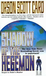 Cover of Shadow of the Hegemon by Orson Scott Card