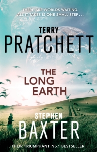 The Long Earth by Terry Pratchett and Stephen Baxter, published by Random House Australia