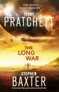 The Long War by Terry Prachett and Stephen Baxter, published by Random House Australia