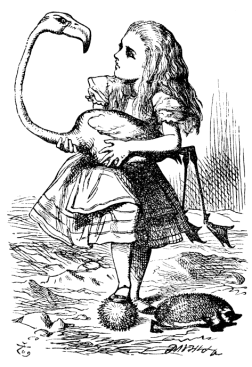 Original illustration (1865) by John Tenniel